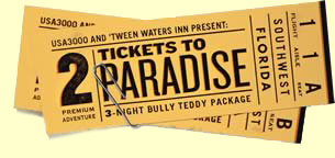 Image Result For Tickets To Paradise