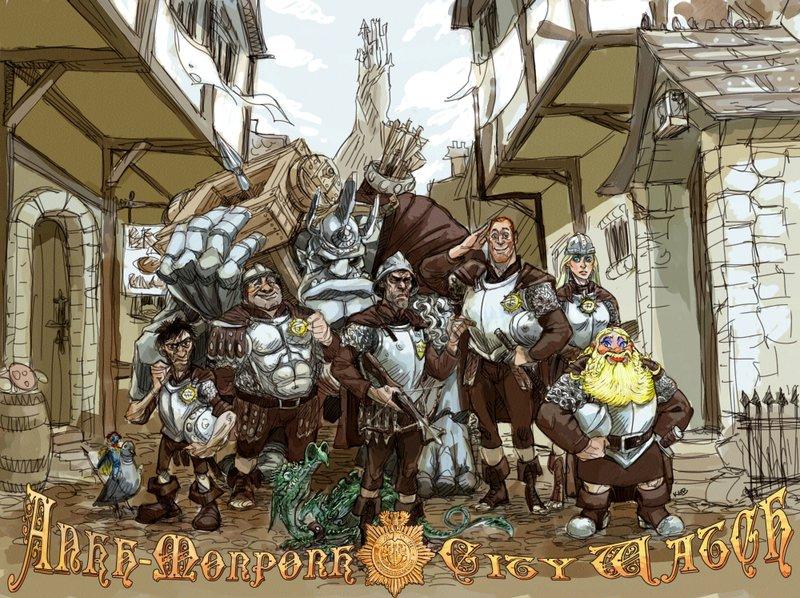 Resultado de imagem para Ankh-Morpork City Watch