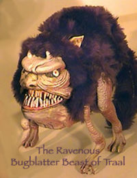 Image result for ravenous bugblatter beast of traal